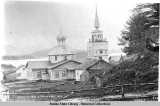 Greek Church. Sitka, Alaska. 1886.