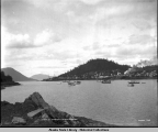 Harbor at Wrangell, Alaska. June 9, 1908.