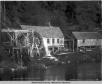Water wheel. Ketchikan Creek, Alaska. 1905.