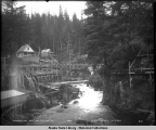 Ketchikan Creek. Ketchikan Alaska. Oct. 7, 1905.