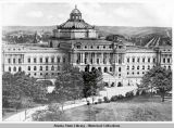 Front view of the Library of Congress.