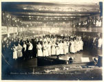 Barndance Given By The Mooseheart Ladies At The Labor Temple  Anchorage, Alaska. Basil Clemons ...