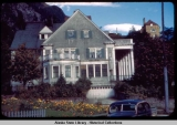 Governor's Mansion, Juneau, Alaska, 1948.