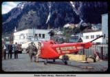 Greeting helicopter, Juneau, Alaska May 1949.