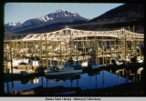 Boat Harbor and Juneau-Douglas Bridge, 1953.