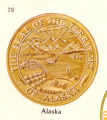 Seal of the Territory of Alaska.