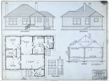 Plans for 5-room cottage.