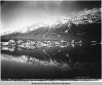 Lower Section of Chilkat Village, Alaska. c. 1895.