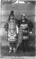 Indian dancers, Chilkat, Alaska.