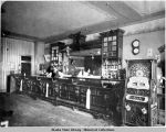 Interior of Saloon and Gambling Parlor.