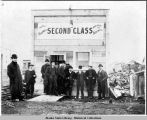 Second Class Saloon after Nome Fire. Sept. 13th 1905.