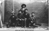 Native Boys, Juneau, Alaska.