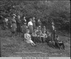 Traveling Class in Botany from University of Chicago. June 16, 1907.