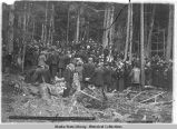 Funeral of Frank Ried [sic] Cemetery. Skagway July 19th 1898.