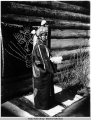 Woman in Tlingit Dance Regalia.
