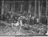 Funeral of Frank Ried [Reid] Cemetery. Skagway July 19th 1898