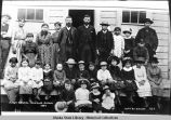 First School. Douglas, Alaska 1885.