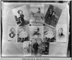 Collection of eleven Soboleff family portraits.