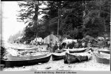 Alaska native fish camp.