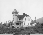 Light House.  Sentinel Is., Alaska.