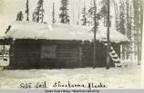 City jail, Shusanna [Chisana], Alaska.