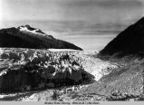 East side of Mendenhall Glacier, 1946.