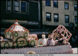 4th  of July - Filipino float, 1958.