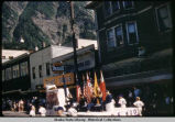 4th of July - Elk's Float with boy scouts, 1958.
