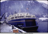 "Inauguration of ferry ""Malaspina"" - Stern, Jan. 21, 1963."