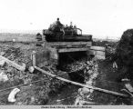 Completed bridge. September 3, 1943.