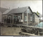 Office of C.I.N Co., Seldovia, Alaska.