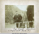 Capt. Carroll, Steamer Queen in Skagway Harbor, Aug. 30, 1897.