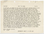 Telegram dated August 15, 1945, from Fleet Admiral Ernest J. King, Commander-In-Chief and Chief of...