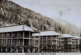 Bunk Houses, Gastineau Mining Co., Sheep Creek, Alaska.