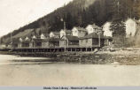 Thane, Ak. Company houses for the Alaska-Gastineau Mine.