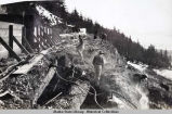 Building the Alaska Gastineau Mine.