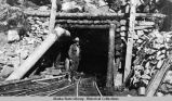 Byron Olsen, Mine shaft, Alaska Gastineau Mine.