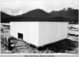 Construction of the Alaska State Museum.
