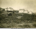 Company's Buildings, St. Paul's Island house, shop, stable, storehouse.