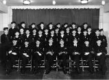 Supply Department Group - 12 December 1943. Official Navy Photograph for Commander Culbertson....