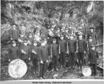 Klukwan Native band.  Juneau, Alaska, Dec. 11, 1912.