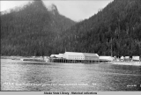 Pacific Cold Storage Plant and Cannery, Taku Harbor, Alaska.