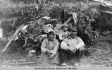 Eskimo Medicine Man and family, Nushagak, AK.
