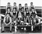 1948 Mt. Edgecumbe High School moments after defeating Sheldon Jackson School for the Sitka City...