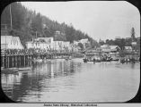 Diver July 4, 1913. Indian town Ketchikan.