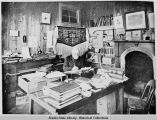 William Duncan in his study Metlakatla, Alaska.