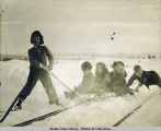 Sledding on White Pass- Yukon R. Olsen, Unknown, Forrest