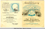 Invitation to Alaska Railroad Anniversary Ball.