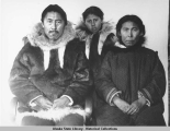 Family Portrait of Olemaun, Fannie Keerik, and Qusalgana of Barrow.