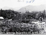 Rte 751 Eklutna Bridge. Structure as 3 hinge arch. July 18/35 - S.W. Distr.